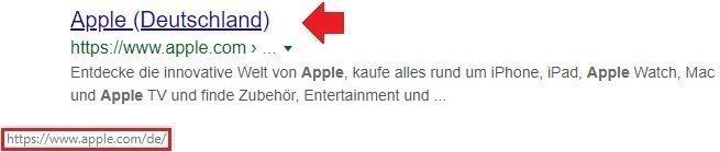 apple deutschland google