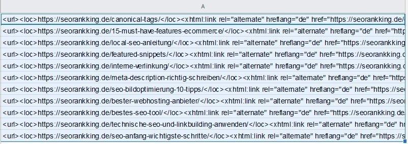 hreflang sitemap code