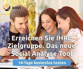 Xovi SEO tool kostenlos testen