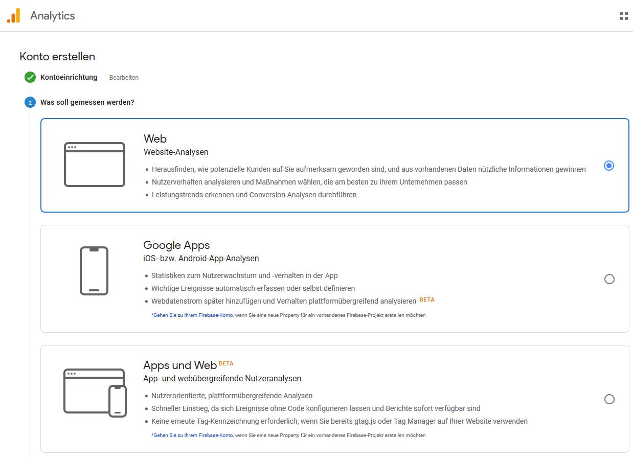 analytics website apps beides